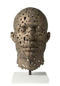 James Mathison, 'Squares Head I (Cabeza Cuadros I)', 2014