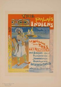 Georges de Feure, 'Indian Palaces Teas (Plate 199)', 1900