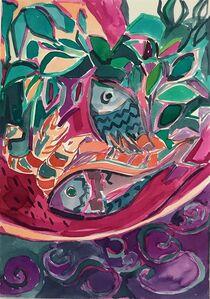 Emi Avora, 'Fish and Shrimps', 2019