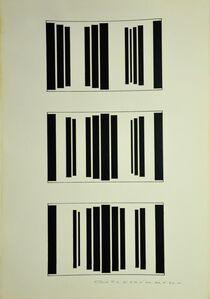 Waldo Balart, 'Mutación #16, del 8:40, al 44A:30 A, al 31 A:44', 1981