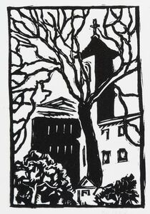 Horace Ascher Brodzky, 'Four Linocuts', 1989
