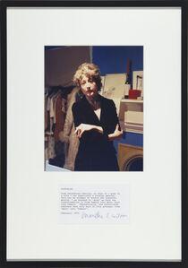 Martha Wilson, 'Posturing: Drag', 1972/2008