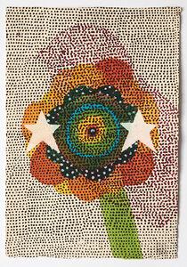 Glenn Goldberg, 'Flower, bird, stars', 2017