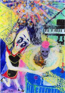 Satoshi Jimbo, 'Skull Curry', 2008