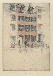 Charles Frederick William Mielatz, 'Ericsson's House, Beach Street', 1908