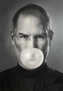 Michael Moebius, 'ibubble - Steve Jobs', 2019