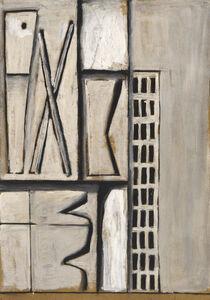 Augusto Torres, 'Estructura en blanco', 1965