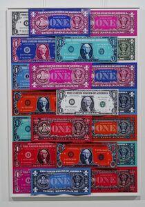 Karl Lagasse, 'Dollars accumulation', 2019