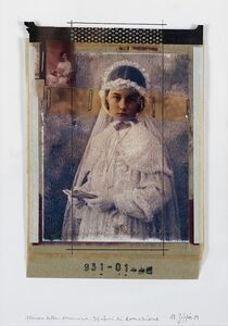 Natale Zoppis, 'From the series: Ritratto della Memoria, prove di donazione', 1989