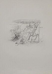 Max Slevogt, 'Jagd der hellenischen Soldaten', 1921