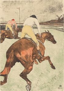 Henri de Toulouse-Lautrec, 'The Jockey (Le jockey)', 1899