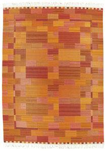 Marianne Richter, ''Fasad, organgeröd', a large carpet', designed 1963