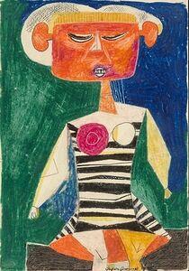 Byron Browne, 'Seated Woman', 1936