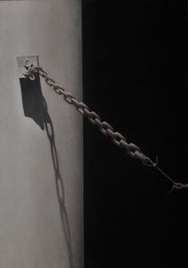 Scott Geyer, 'White Post and Chain', 2008
