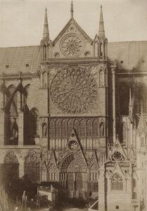 Jean-Louis-Henri Le Secq, 'Cathédrale Notre-Dame, portail méridional, Paris', 1851/1851