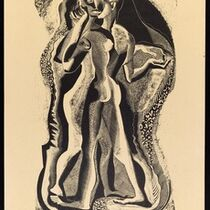 Gertrude Hermes, 'Two People', 1934