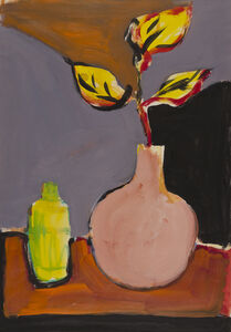 Harold Garde, 'Still Life With Leaves', 1974