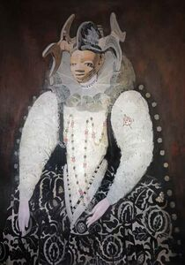 Wole Lagunju, 'Belle of the hearth', 2014