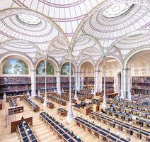 Candida Höfer, 'La Salle Labrouste - La Bibliothèque de l'INHA Paris III 2017'