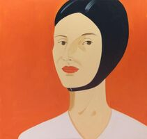 Alex Katz, 'Ada in Bathing Cap', 2012