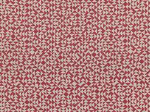 E Heavy Linen in red (186U)