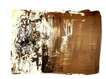 """Original Lithograph """"Abstract Composition"""" by Zao Wou-ki"""