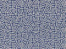 E Heavy Linen in deep blue (287U)