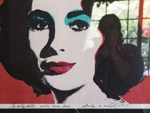Andy Warhol to Elizabeth (Self-portrait Artist)