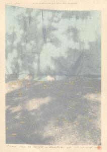 Tetsuya Noda, 'Diary: Nov. 24th, '98, in Ueno Park', 1998