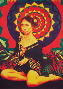 Ly Nomad, 'The Flower Girl', 2018