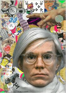 Andre Boitard, 'Andy Warhol', 2018