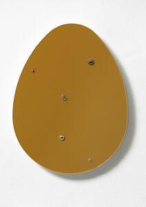 """Thomas Grünfeld, '""""Untitled (egg / dark ochre)"""", ', 2016"""