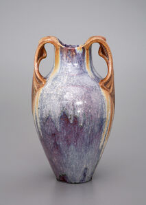 Émile Decoeur, 'Abstract Iris', 1904