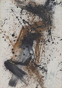 Toti Scialoja, 'Composizione', 1989