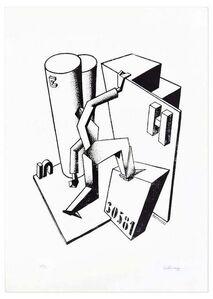 Ivo Pannaggi, 'The Climber', ca. 1975