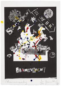 Jamie Reid, 'Shamanarchy', 2014