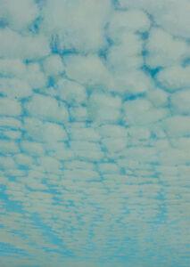 Lisa Grossman, 'Cloud Blocking - Blue and Gray', 2007