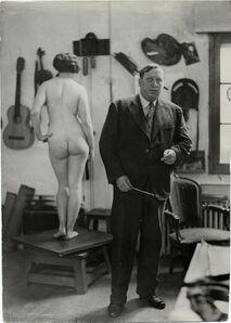Umbo, 'Portrait of Derain', 1928