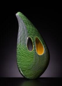 Benjamin Cobb, 'Green Patchwork Mussel', 2020