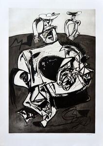 Juan Barjola, 'Caída del caballo (Falling from the Horse)', 1994