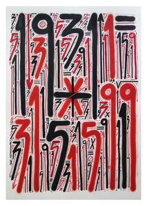Sixe Paredes, 'Abstracción numérica', 2020