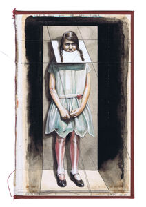 Gideon Kiefer, 'The Girl with the Red Flower', 7