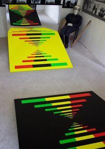 AURA BALANESCU, 'Triology. Light as Information (DNA) II', 2015