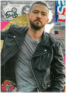 Andre Boitard, 'Justin Timberlake', 2018