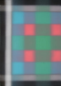 Barry Nelson, 'Untitled - Blur Grid', 1977