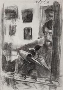 Leonid Balaklav, 'Self portrait', ca. 1995