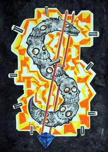 Eric Massholder, 'Dollar Dragon 1', 2008