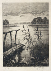 Josefine Auspitz, 'Lake View', n.d.