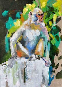 Jacco Olivier, 'Untitled 2 (Monkey)', 2020