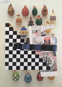 John Ashbery, 'Fabergé Breakfast', 2016